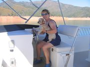 Cleo At The Helm