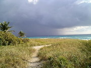 Storm cloud today @ Delray Beach.