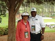 Masters 2012 Pam and Anthony Griffin
