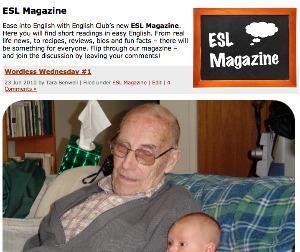 ESL Magazine