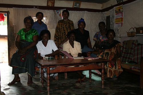 Representatives of the Makew Womens Group