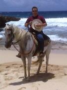 On the Beach in Aruba
