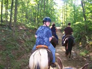 Thomas's first trailride at the Why Not Ranch!!!   6-13-2010 003