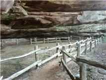 Hippie cave walkway