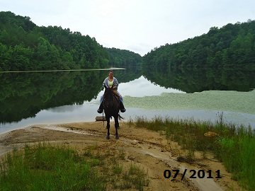 Trail Riding at Timber Ridge Horse Campground