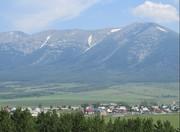 Это вид горы со стороны города