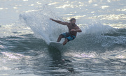 Surfing at Kitty Hawk, NC