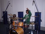 @ Work in Miriam Makeba Studios