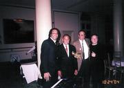 Howie Alexander, Hon. John Conyers, Me & George Heid - 2004