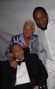 Jimmy & Jeanie with Yasmin Bey (a.k.a. Mos Def)  ~  2012