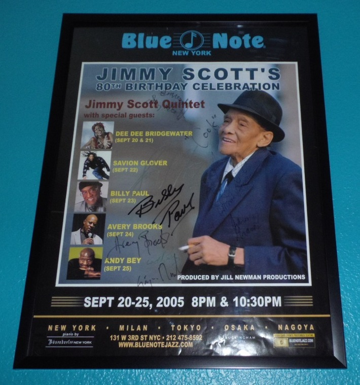 Blue Note Poster  ~  2005