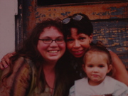 my mother, daugher and me