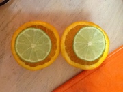 making citrus coolers...