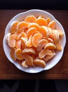 Mono meal of clementines