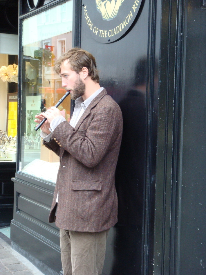 Galway Flute player.