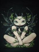 Very cool goth faery
