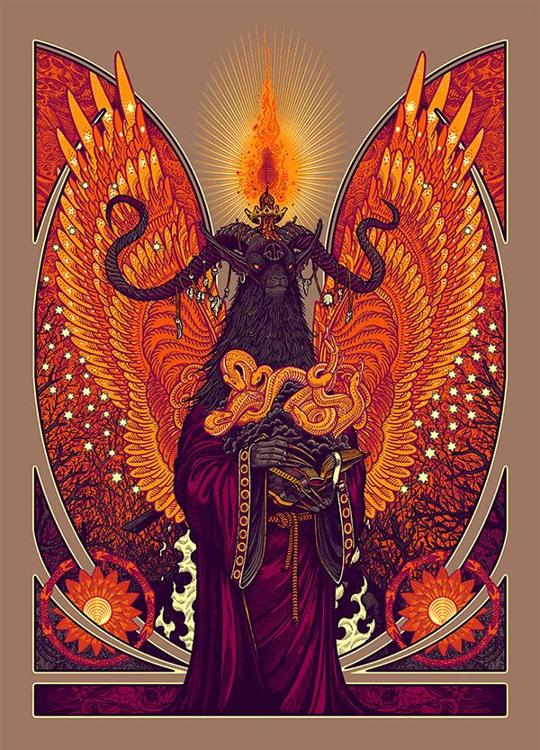 Fire Snake God