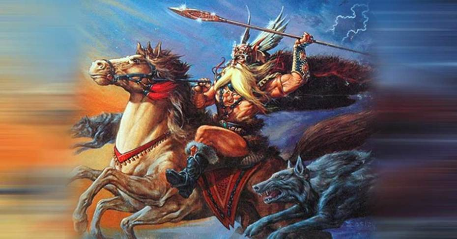 Odin Riding Forth