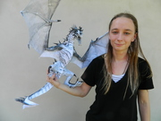 Me with paper dragon