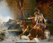 Hliðskjálf The High Seat of Odin