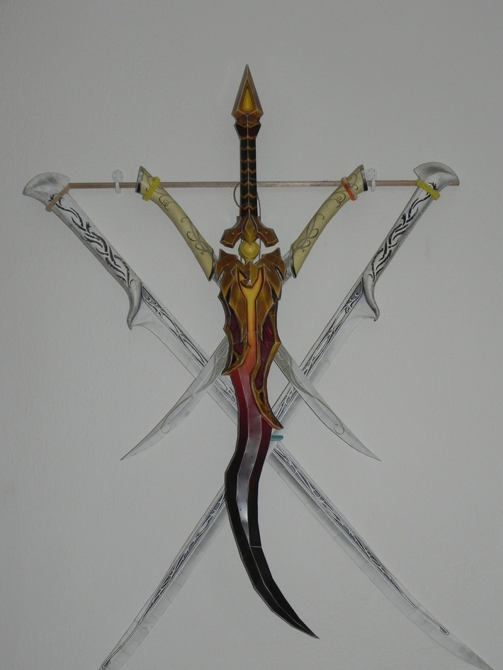Paper sword collection