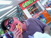 "Geno's in Philly ""wit cheese"""