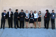HHS 2009 Academic Decathalon Team