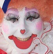 Me as Jolly Molly the Clown