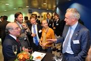 Mr. Savereys and Ambassador fox at the Antwerp Port Authority
