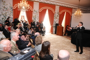 Helmut Lotti performs at the U.S. Ambassador's residence