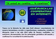 INTERNET Y COOPERATIVAS