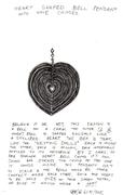 heart shaped bells