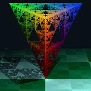 Sierpinski tetrahedron Fractal