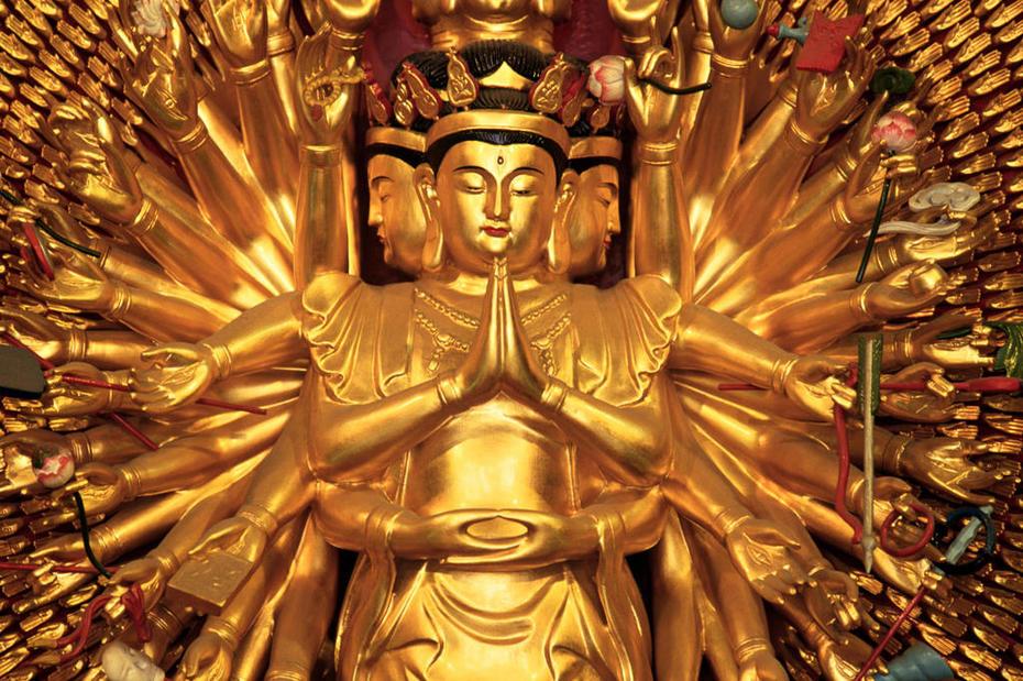 Buddhist Temple Shrine