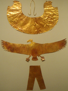 SheetGoldPectoral-Tomb Of 3 Minor Wives Of ThutmoseIII