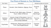 Four Rivers of Genesis vs. Four DNA Base Pairs