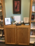 Easter Library 2018 Self Sign Out Return Station