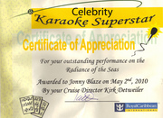 Celebrity Karaoke Superstar