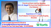 Dr A. K. Singal Offers Treatment For an Undescended Testis Taking Control of All your Urology Problems