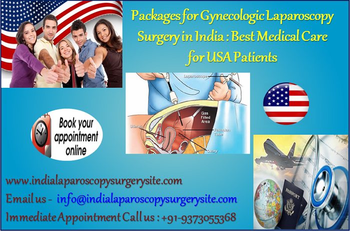 Packages for Gynecologic Laparoscopy Surgery in India Best Medical Care for USA Patients