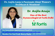 Dr. Anjila Aneja is Passionate About Women's Healthcare & Momhood