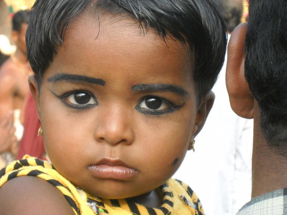 Kinderaugen - Indien 2010