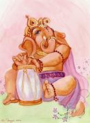 Ganesha_with_Drum