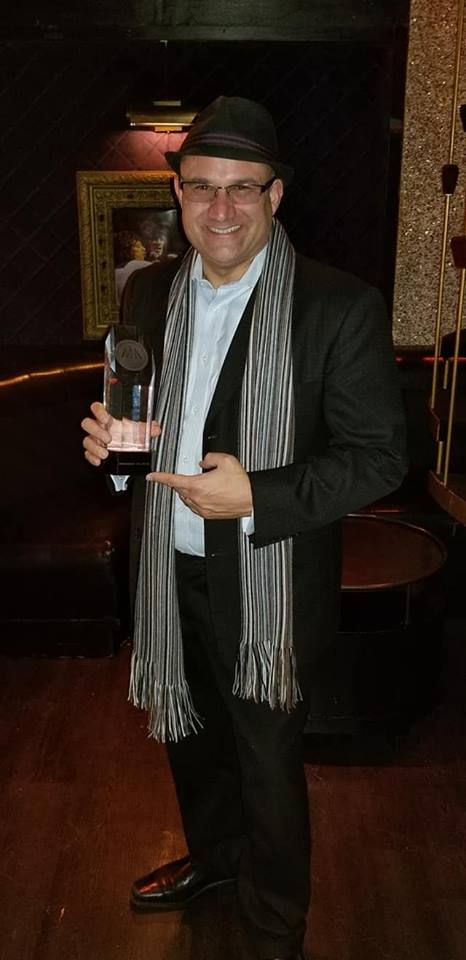 Leo s pic with HMMA trophy