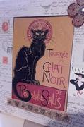 SHABBY CHIC - ART NOUVEAU PUSSEY CAT