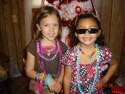 Grandaughter Kaitlyn and cousin Kara