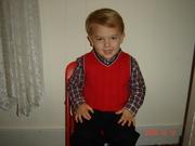 Grandson Cole, my little sweetheart!