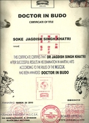 DOCTOR IN BUDO