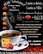 Ganoderma: Cafe, Salud, Rejuvenecimientoy,Vida saludable