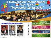 II CONVENCION INTERNACIONAL PERU BOLIVIA